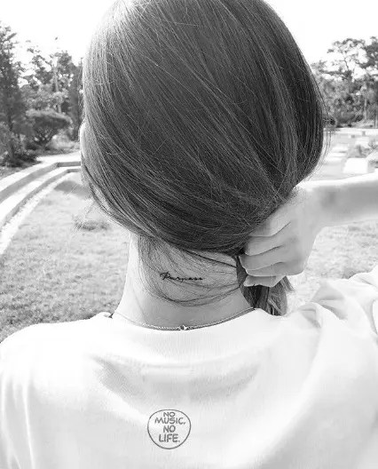 少女時代 テヨン タトゥー