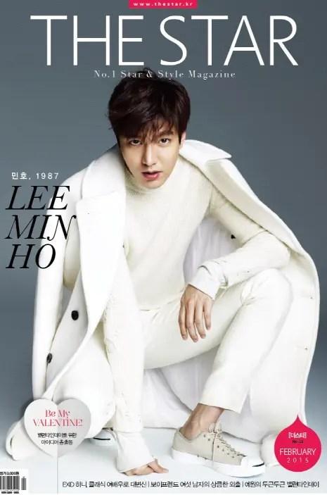 冬の王子のような俳優 イ・ミンホ