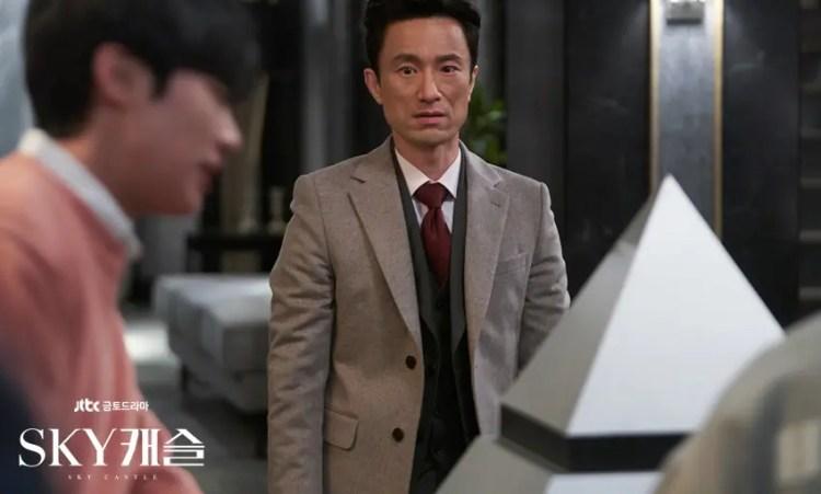 SKYキャッスルの父親役キムビョンチョル