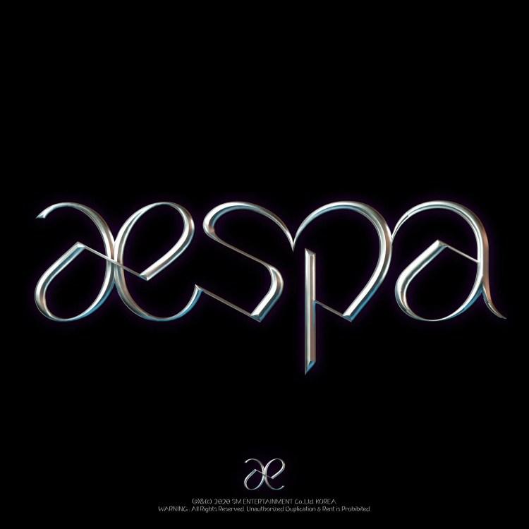 新ガールズグループ・aespaのロゴ