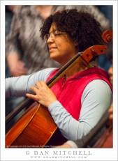 Cellist Ellen Sanders