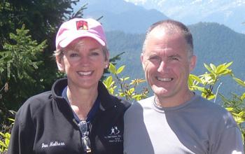 Dan Mulhern and Jennifer Granholm