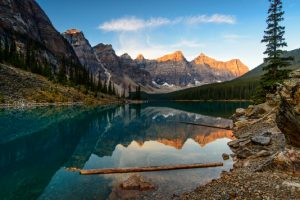 Judges favorite: Sunrise at Moraine Lake