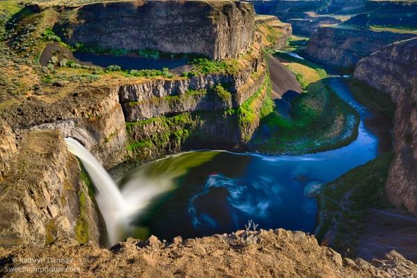 Stunning Palouse Falls, 2014