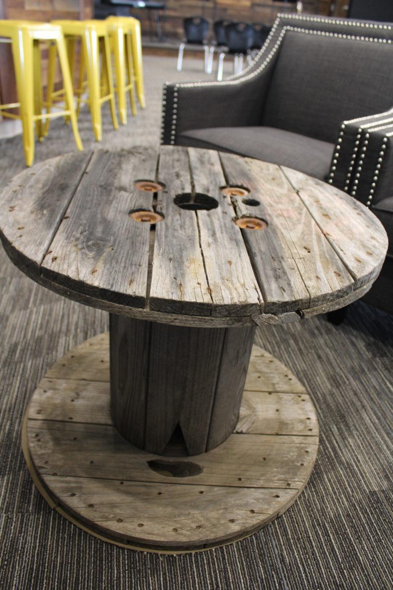 DIY Spool Table