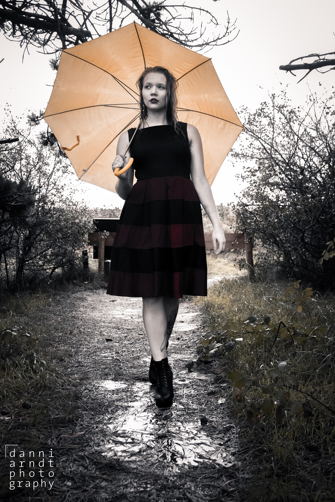 Girl Umbrella 2