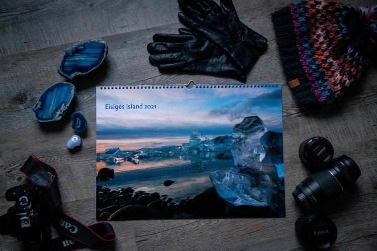 Wandkalender Eisiges Island, Island Fotos, Landschaften, Details, Canon
