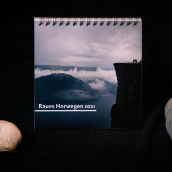 Tischkalender 2021: Raues Norwegen