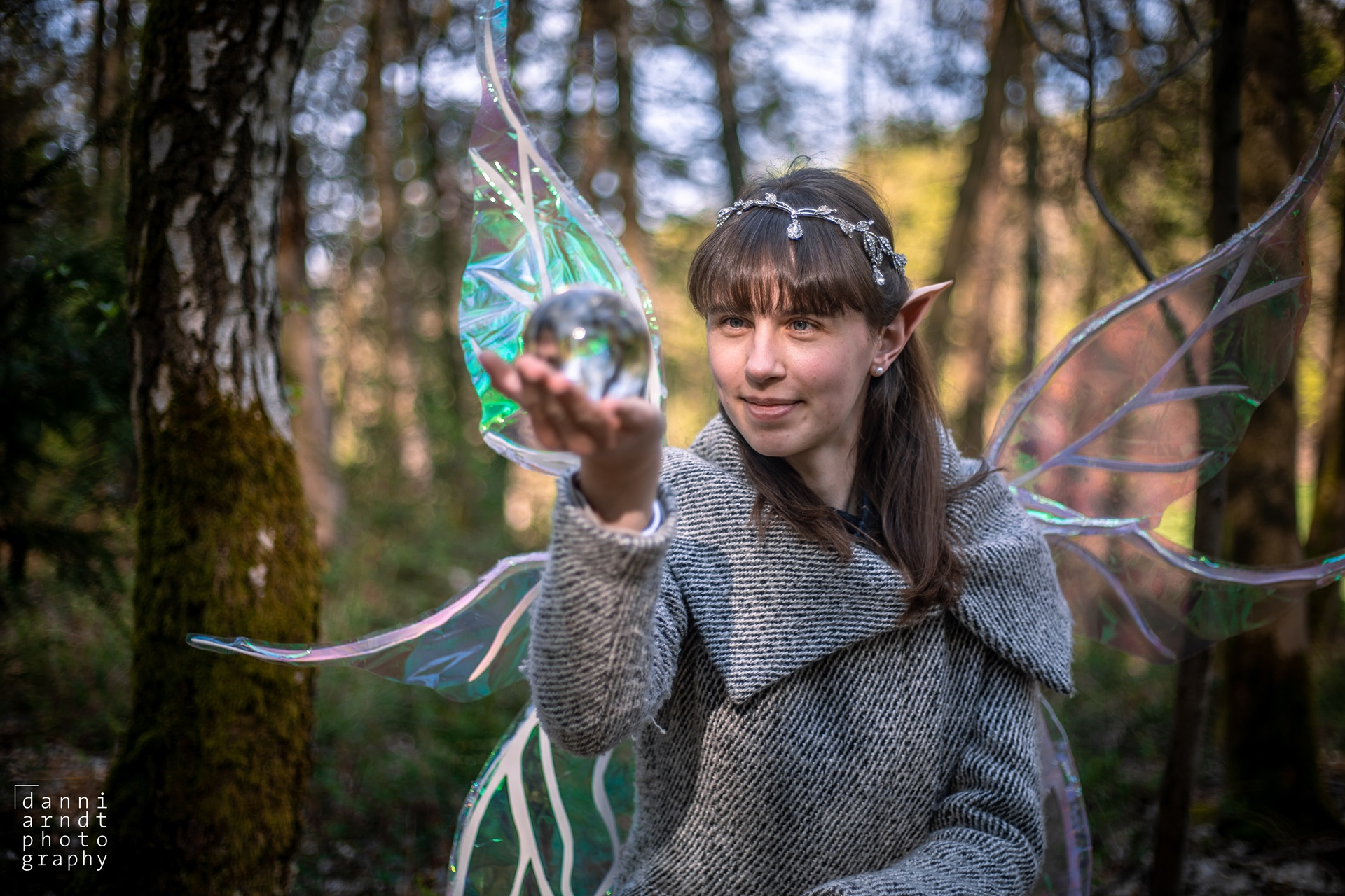 Fantasy Shooting Elfe Fee Svenja Mantel