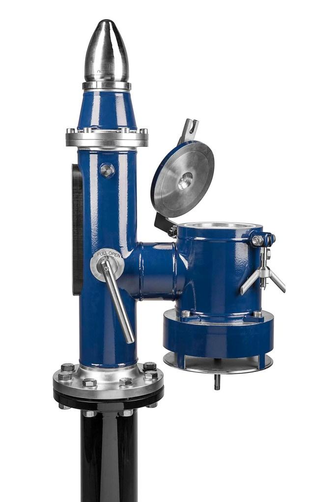 Pres-Vac, ventil, stål produkt billed, københavn.