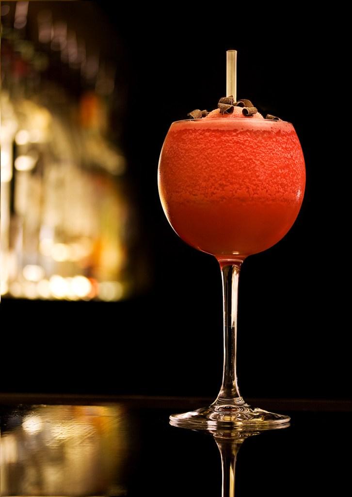 Rød Cocktail Foto på lokation