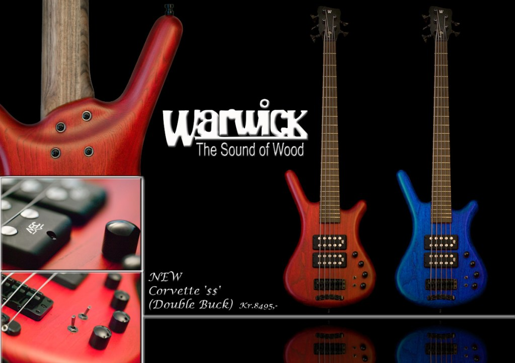 Warwick Covette Bass