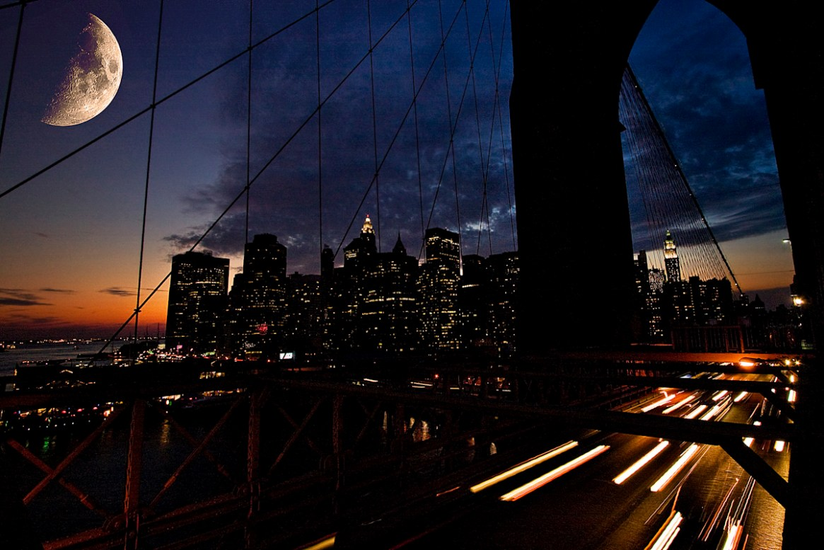 New York, Brooklyn Bridge 2008 by dannielsen.dk©