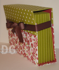Dannies Designs Accordion File Folder Box