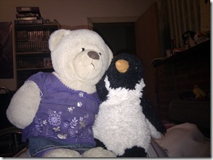 Katie and Penguin