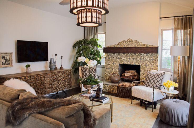 Spanish Living Room American Dream Builders