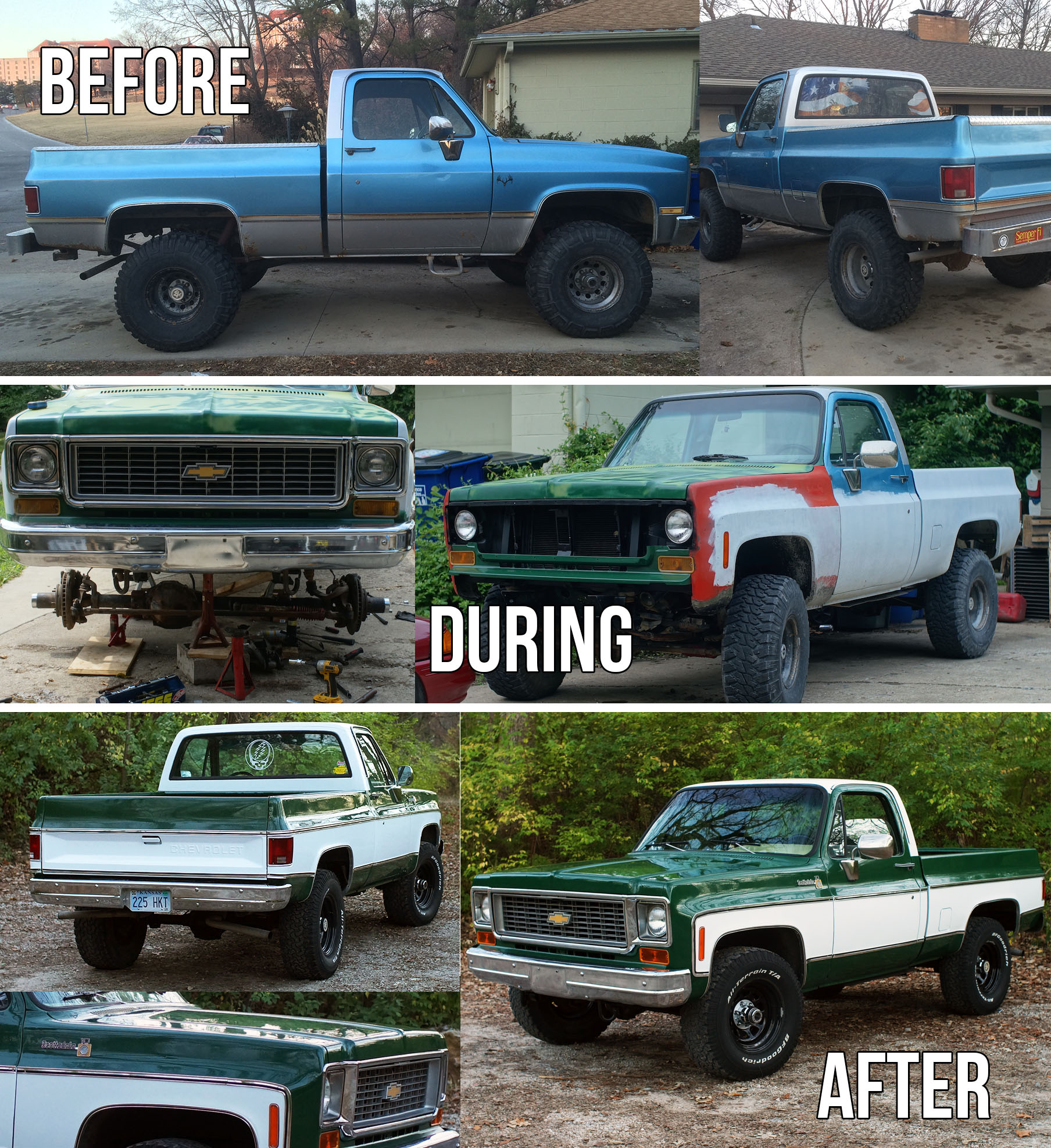 Chevy K10 Truck Restoration Conclusion