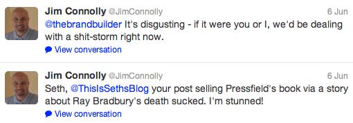 Jim Connolly Seth Godin