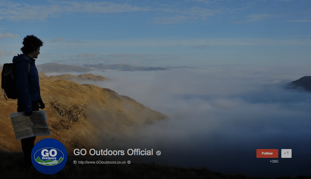 GO Outdoors Official Google +
