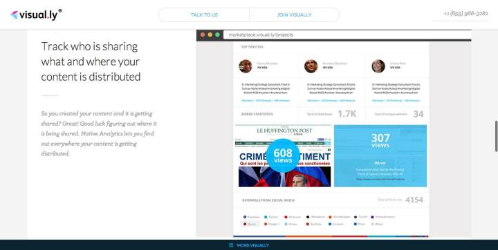 Native Analytics Track Your Visual Content with Visual.ly