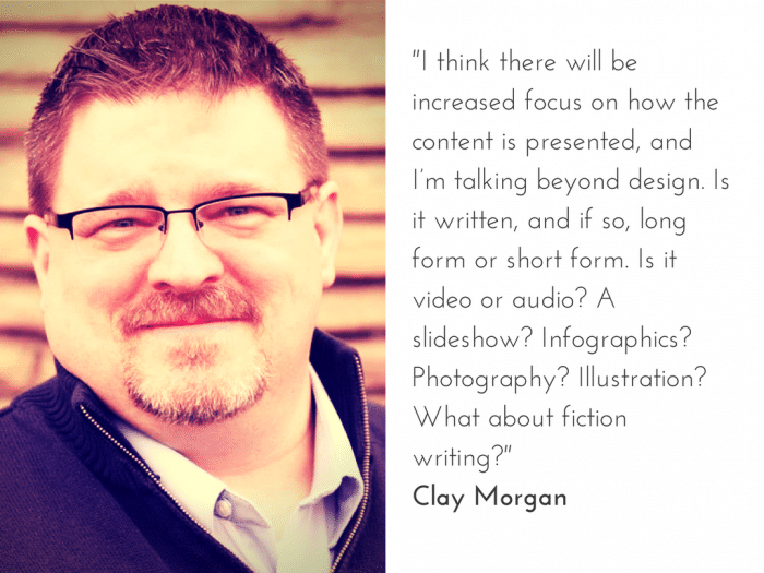 Clay Morgan on the Future of Content