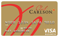 Club Carlson Business Rewards Visa®   U.S. Bank