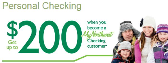 Northwest Savings Bank bonus 200