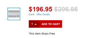 staples.com visa 10