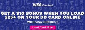 Visa Checkout Dunkin Donuts