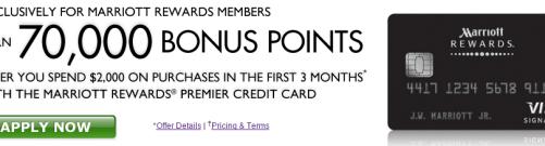 Chase Marriott Rewards Credit Card