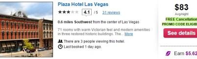 Las Vegas   Hotel Search Results   www.orbitz.com