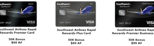Southwest Cards