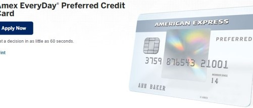 Amex EveryDay® Preferred Credit Card American Express