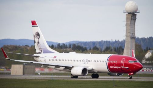 NORWAY-AVIATION-TRANSPORT-NORWEGIAN