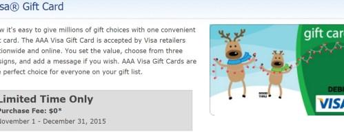 Visa Gift Card - No Fee
