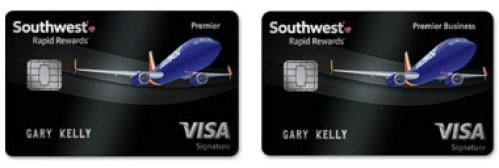 Southwest Airlines Rapid Rewards Premier Personal Business