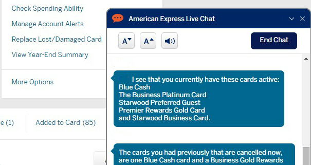 How To Check What Amex Cards Youve Had In The Past Danny The Deal