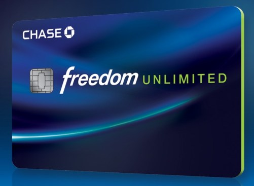 Image result for Chase Freedom Unlimited