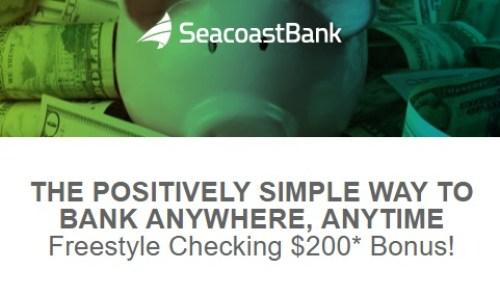 Seacoast Bank 200 Bonus