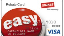 staples visa mastercard deal