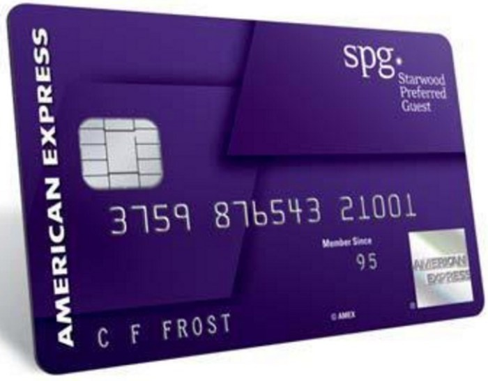 SPG Card Spending Bonus