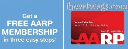 Free AARP Membership