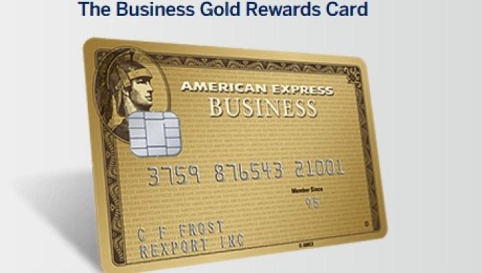 Amex Business Gold Rewards 75K Bonus