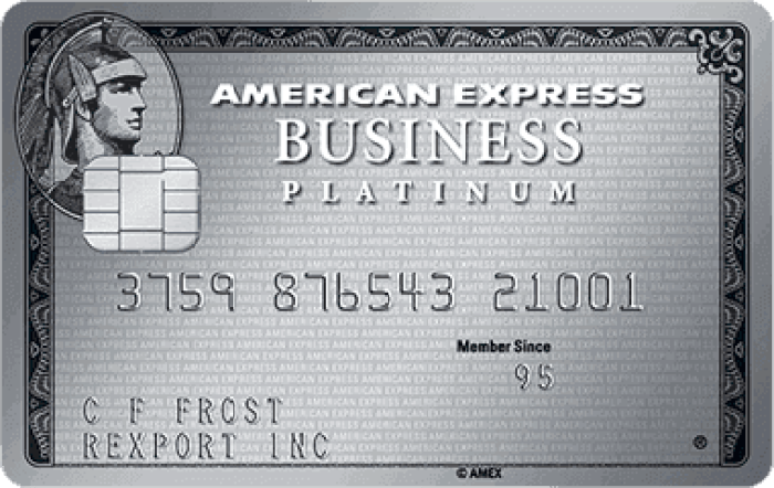 amex business platinum rebate