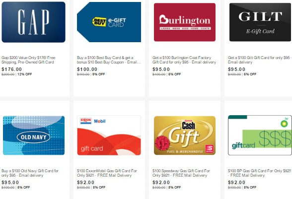 8 Off On Gas Plus Lots Of Other Discounted Gift Cards On Ebay Danny The Deal Guru