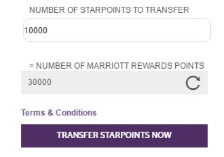 Starwood Hotels   Resorts transfer points.jpeg