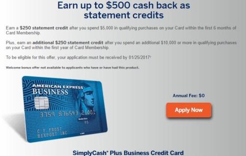Amex simplycash plus business card up to 500 bonus danny the american express simplycash plus 500 bonuseg reheart Choice Image