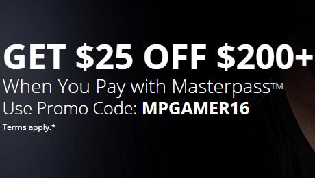Masterpass  25 OFF  200 Promo Code   Newegg.com.png