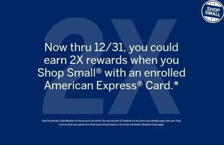 Shop Small Offer AMEX 2X.jpeg