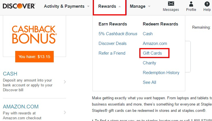 25% Off Nike Gift Cards When Using Discover Cash - Danny the Deal Guru